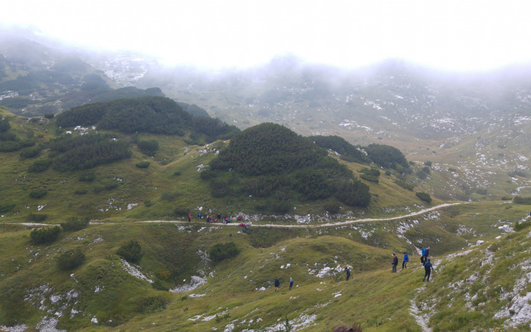 Športna dneva 2. letnikov v gorah