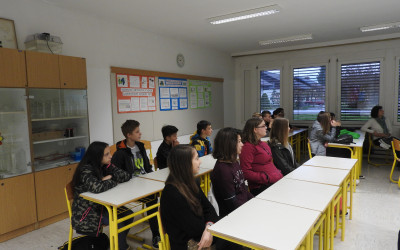 Obisk učencev iz OŠ Mirana Jarca