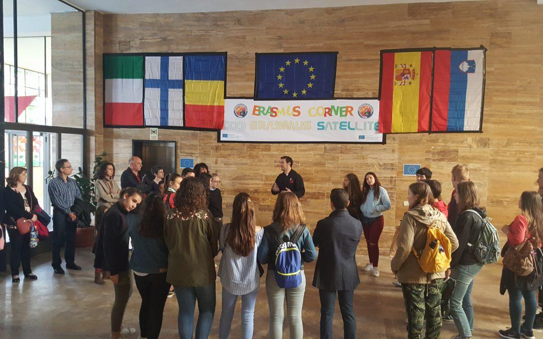 Zaključno srečanje projekta Erasmus+ v Madridu