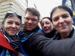 Udeležili smo se protestnega shoda v Ljubljani