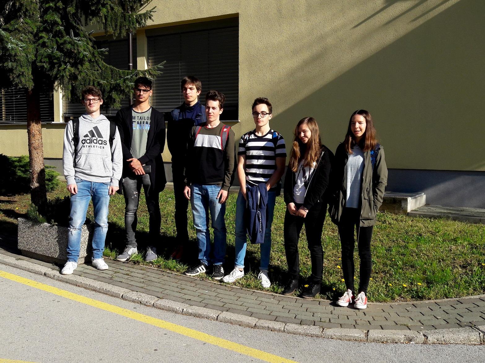 Udeleženci državnega tekmovanja