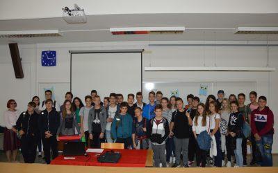 Tehniški dan z učenci OŠ Vinica