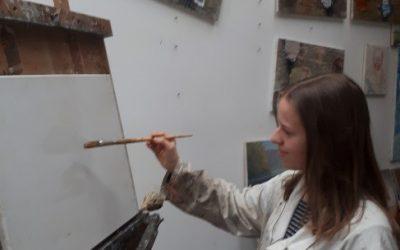 Ada Lozar – zmagovalka likovnega natečaja ob Doltarjevem letu