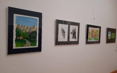 Leona Ambrožič – Talenti – razstave mladih likovnikov