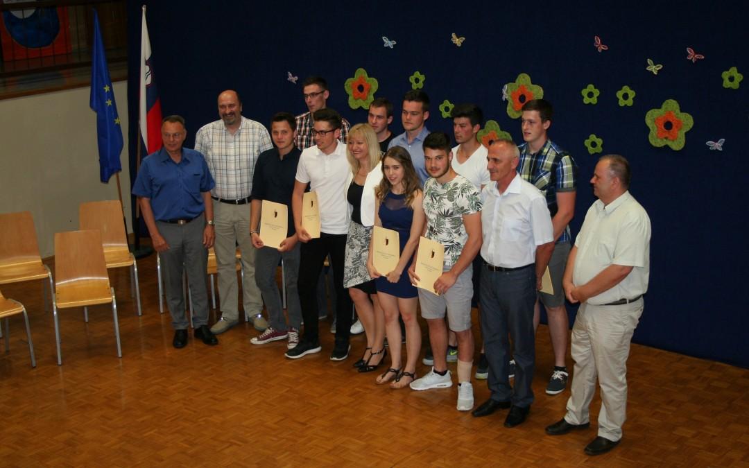 Uspešni maturanti poklicne mature 2016 na Sš Črnomelj