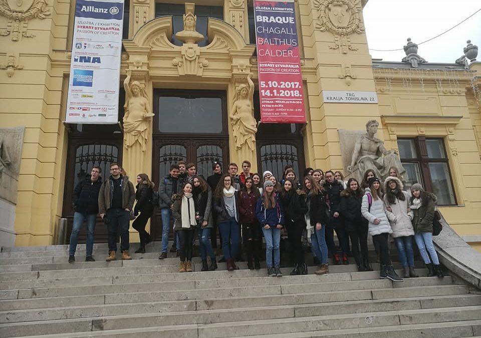 Umetnostna ekskurzija v Zagrebu