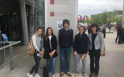 Uspeh črnomaljskih gimnazijcev