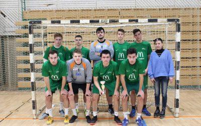 Nogometna ekipa SŠ Črnomelj na področnem prvenstvu srednjih šol zasedla 3. mesto